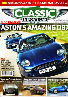 Classic And Sports Car Ad Specifications Specle - Classic and sportscar magazine